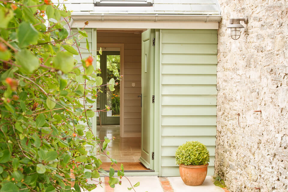 Front Door Plympton Barn